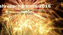 Jahresprogramm 2016